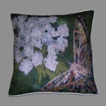 Cushion: Swallowtail butterfly with milk parsley